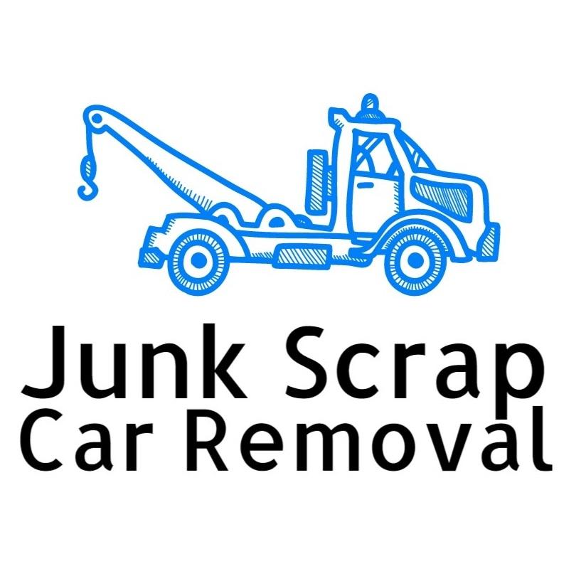 Junk Scrap Car Removal Logo